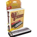 Hohner, Old Standby Harmonica in G 34B-BX-G