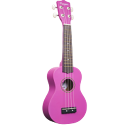 Penguin Purple Blue Soprano Ukulele PGUKPU